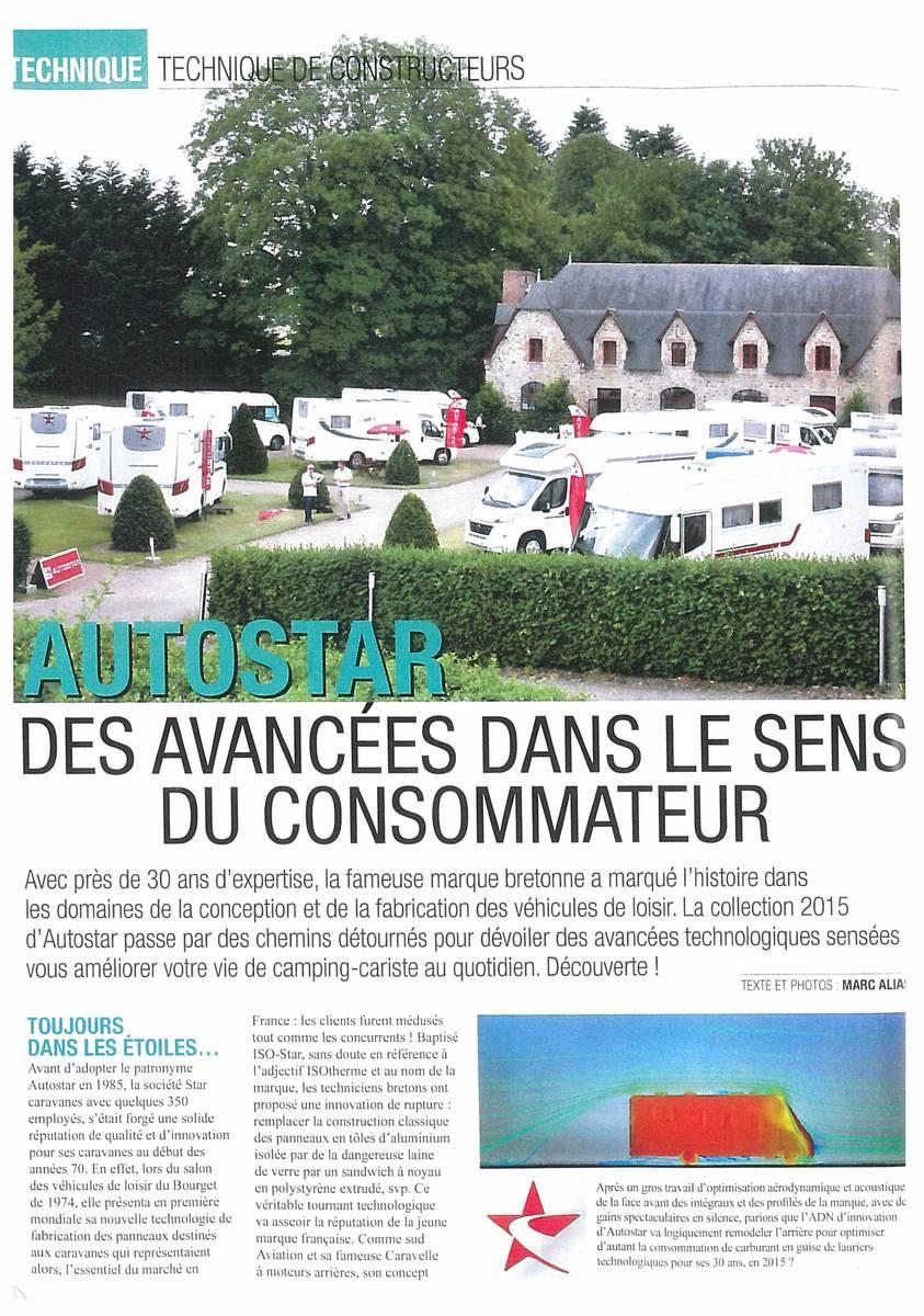 AUTOSTAR, une référence dans le milieu du camping-car pour ses avancées technologiques