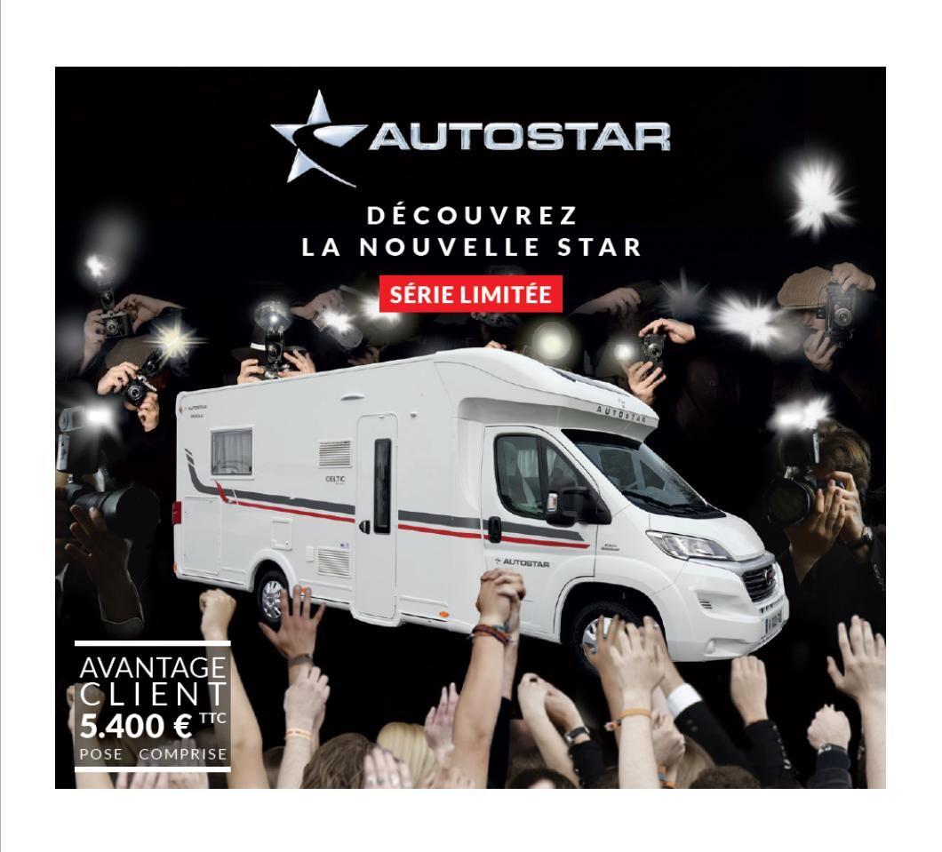 La Nouvelle Star CELTIC édition prochainement dans les concessions AUTOSTAR