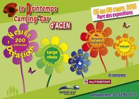 Le printemps du camping-car d'AGEN – Du 5 au 8 MARS