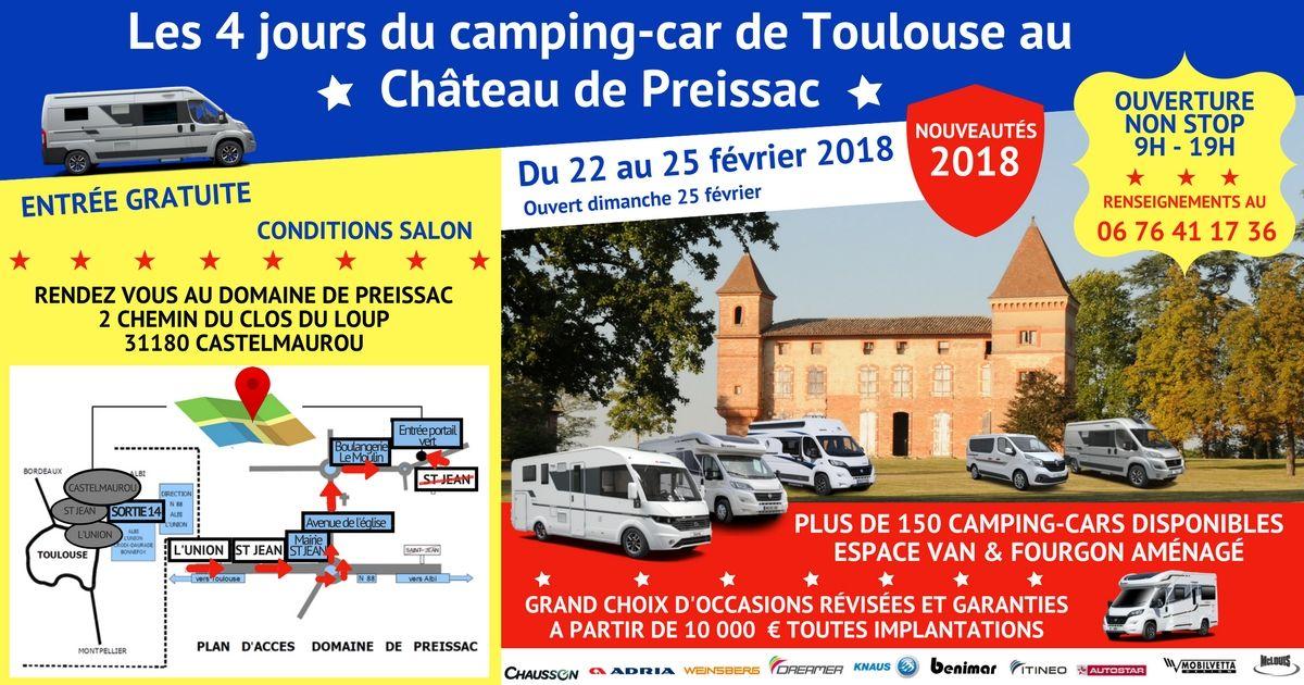 Les 4 jours du camping-car de Toulouse