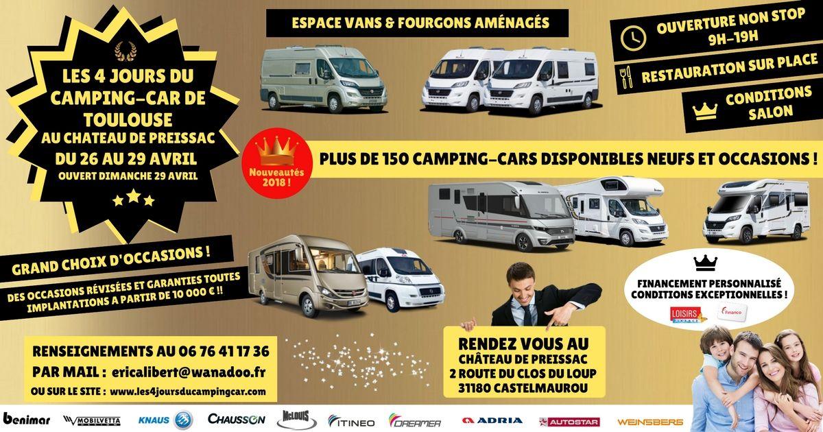Les 4 jours du camping-car de Toulouse 2018