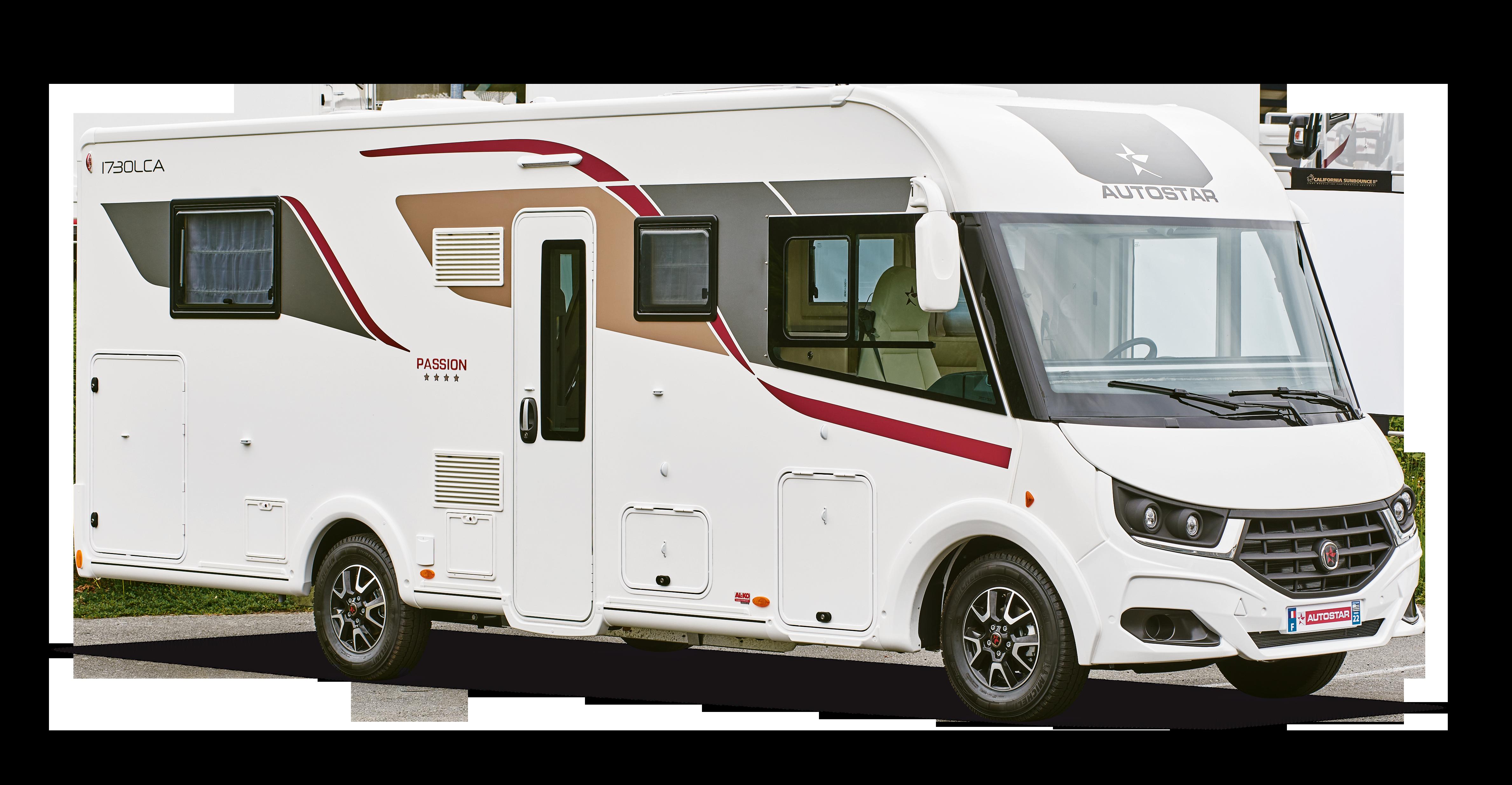 Camping-car intégral I730 LCA