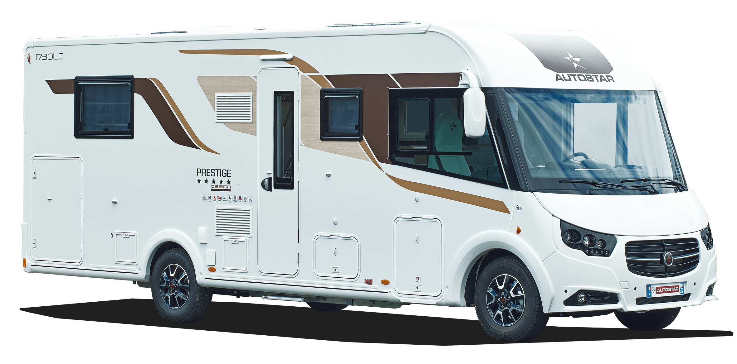 Camping-car intégral I693 LC Design Edition