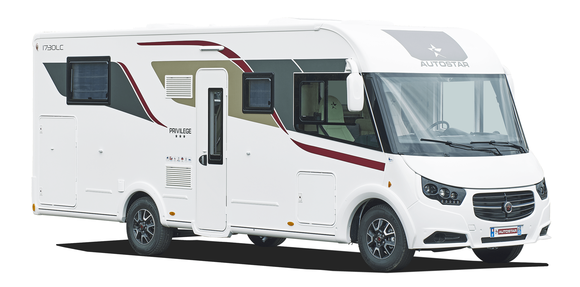 Camping-car integral I720 LC Lift