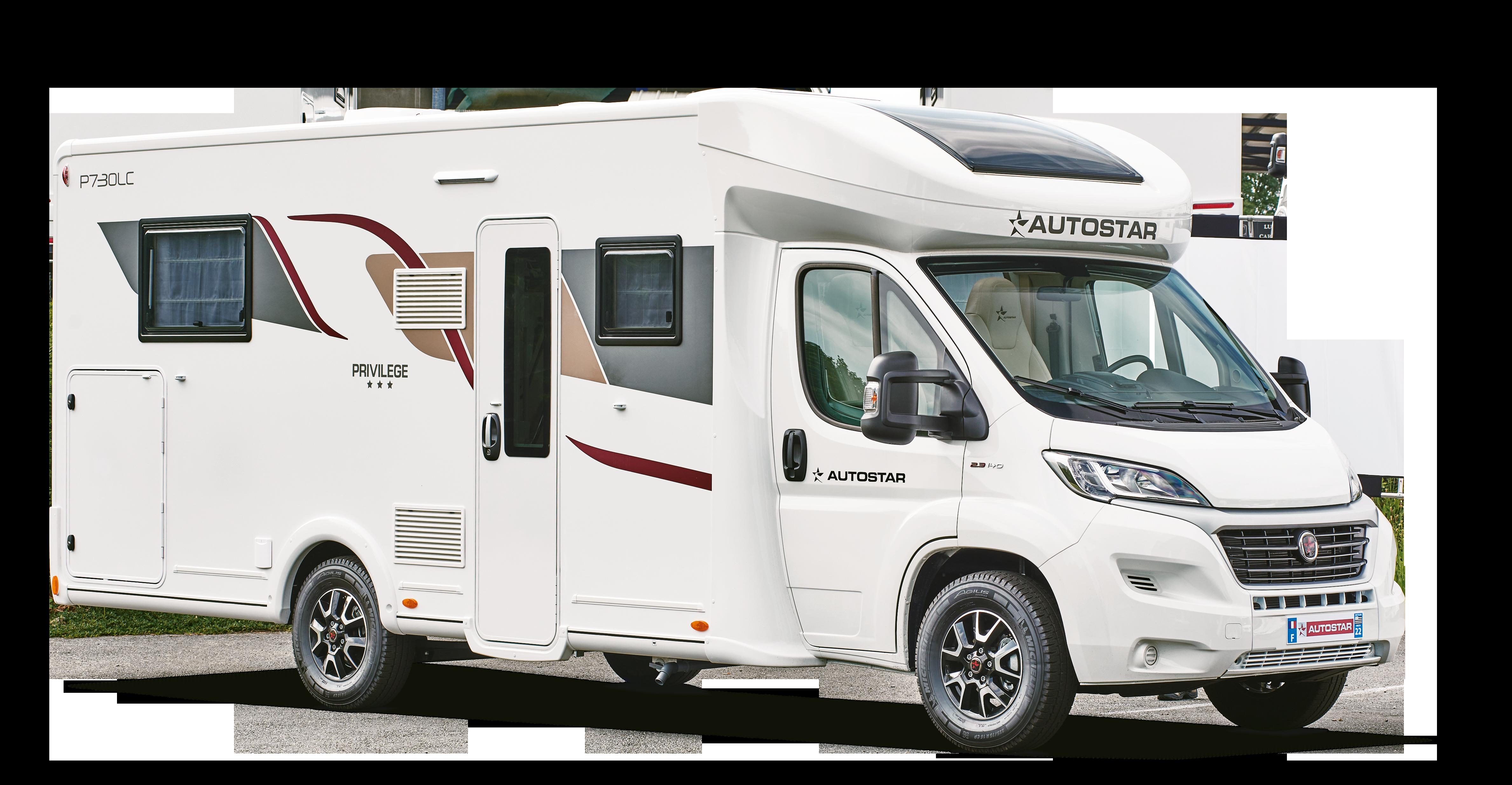 Camping-car profilé P730 LC Lift