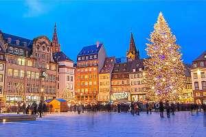 Noël en camping car à Strasbourg