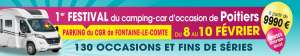 festival du camping-car d'occasion POITIERS Du 8 au 10 Février 2019