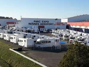 Parc expo Rennes Aéroport salon du camping-car du 15 au 18 Février 2019