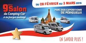 Salon du camping-car Périgueux 2019