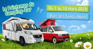 Salon du camping-car à Agen 7 au 10 Mars