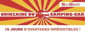 Quinzaine du Camping-car