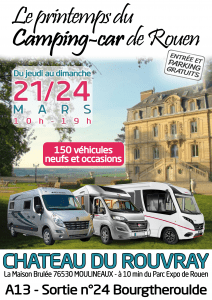 camping-car salon de Rouen