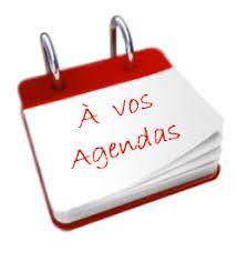 A vos agendas !