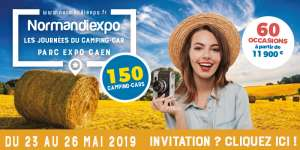 Salon camping-car à Caen Mai 2019