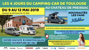 Salon du camping-car à TOULOUSE (31)