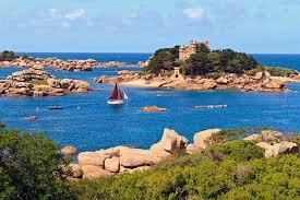 Bretagne en camping-car Côte de Granit Rose