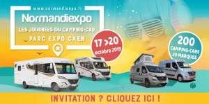 Salon du camping-car à Caen Normandiexpo