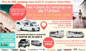 Salon du camping-car de TOULOUSE