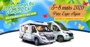 SALON DU CAMPING-CAR AGEN 5 au 8 mars 2020