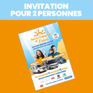 invitations salon du camping-car de Lisieux