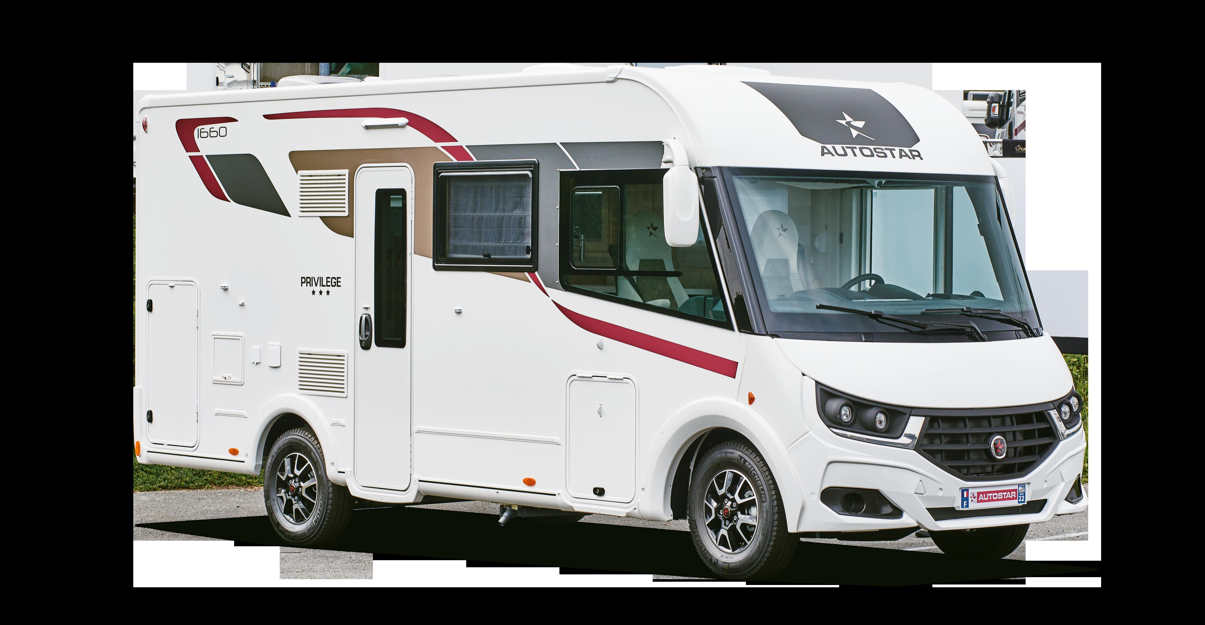Camping-car intégral I660