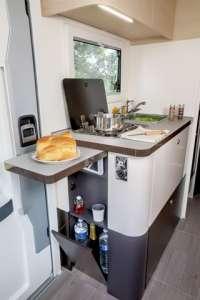 cuisine camping-car compact