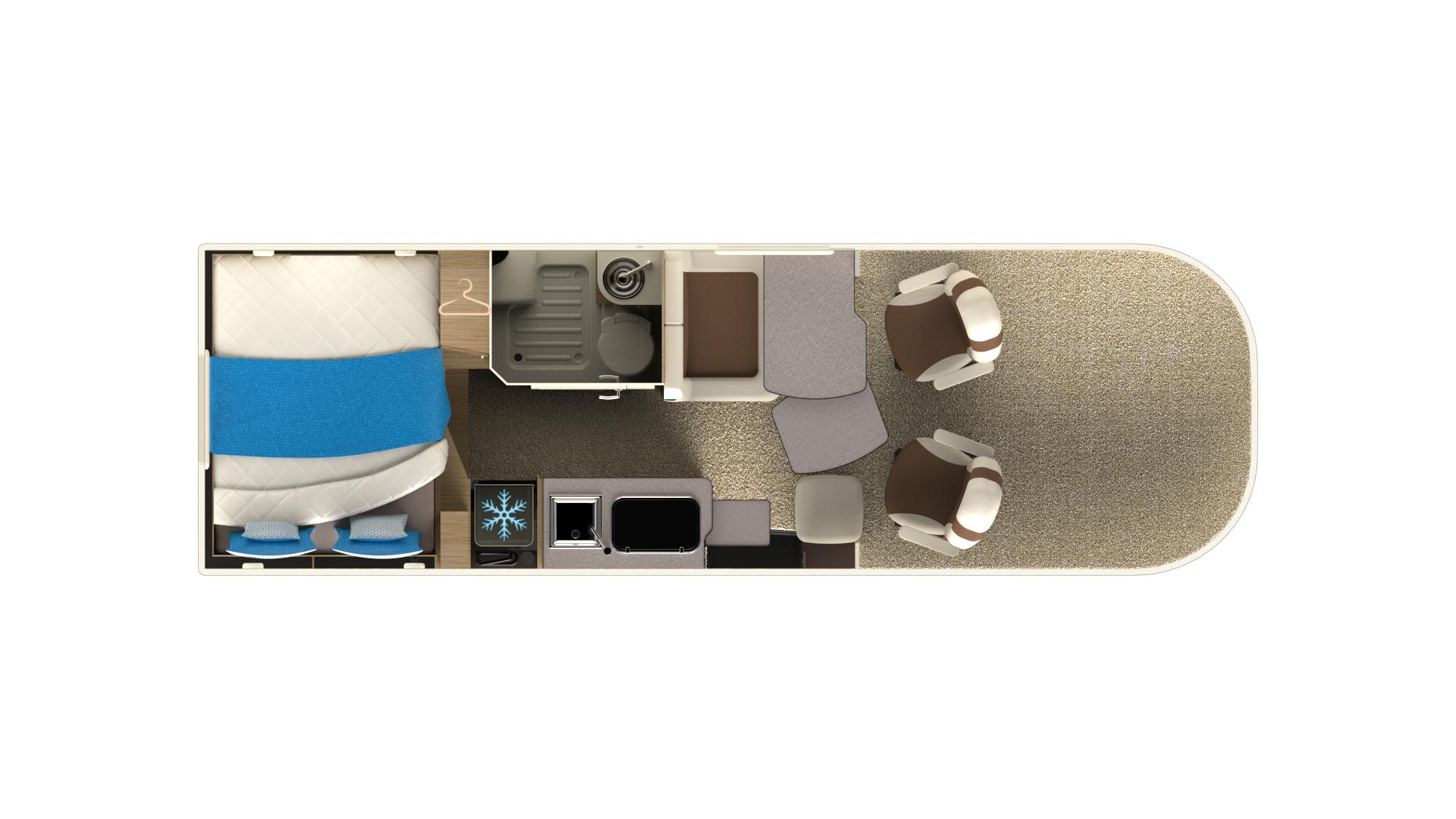 Camping-car profilé P650LT